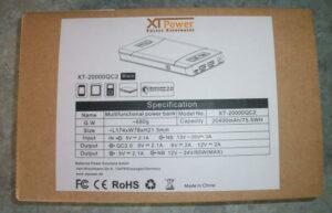 XTPower XT-20000QC2 Powerbank Verpackung