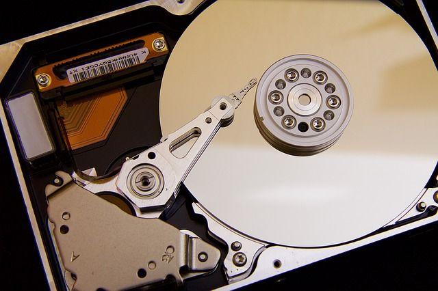 Datenträger Nr. 1 Innenleben einer Festplatte