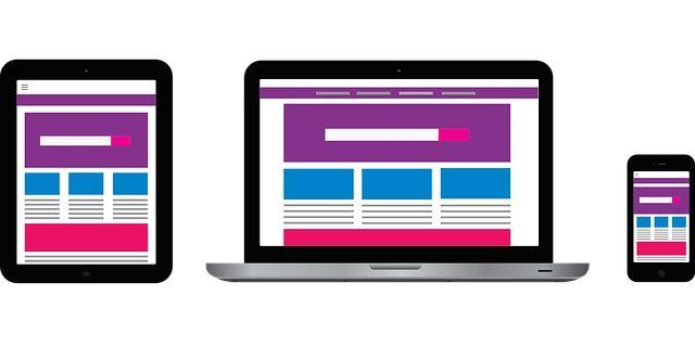 mobile Webseite verschiedene Endgeräte