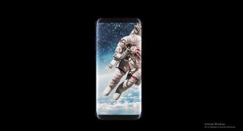 Display beim Smasung Galaxy S8