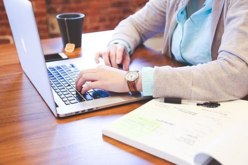 Student am Computer