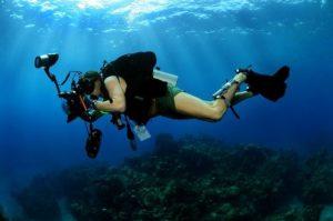 Unterwasser Fotografen Tauchen