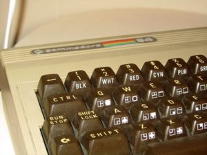 Detailaufnahme des C64