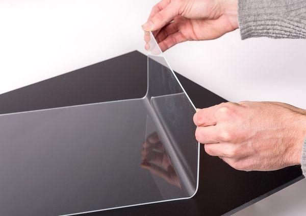 DIY Anleitung für eine Tablet-Halterung aus Acrylglas.
