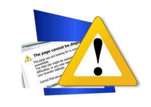 Error 404 Seite wurde nicht gefunden