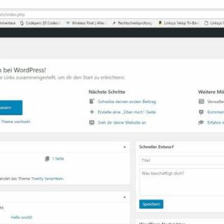 Checkliste: Die ersten 5 Schritte nach der WordPress Installation