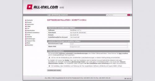 Login-Daten, Lizenzbedinung und Haftungsausschluss