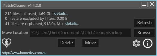 Windows Installer aufräumen mit dem PatchCleaner