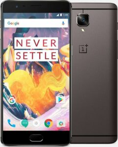 OnePlus 3T, RAM 6GB+128GB ROM 4G FDD-LTE 5.5 inch Smart Phone Qualcomm Snapdragon 821 Quad Core 2.35GHz 16.0MP A3010