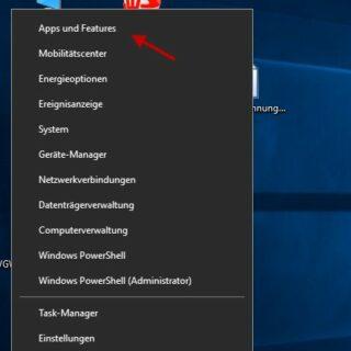 Internet Explorer bei Windows 10 deinstallieren