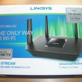 EA8300 MAX-STREAM AC2200 Router von Linksys vorgestellt