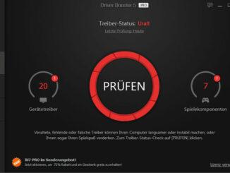 IObit Driver Booster 5 fehlende und veraltete Treiber finden