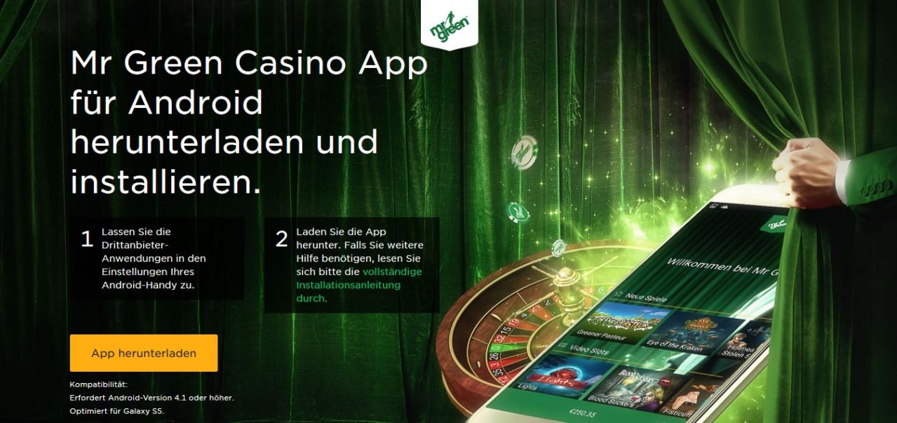 Mr. Green Smartphone App