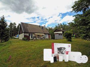Smarter Schutz weltweit – auch ohne Internet: tapHOME schützt Ferienhaus in Südschweden