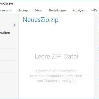 WinZip 22 Pro - Die neue WinZip-Generation im Test