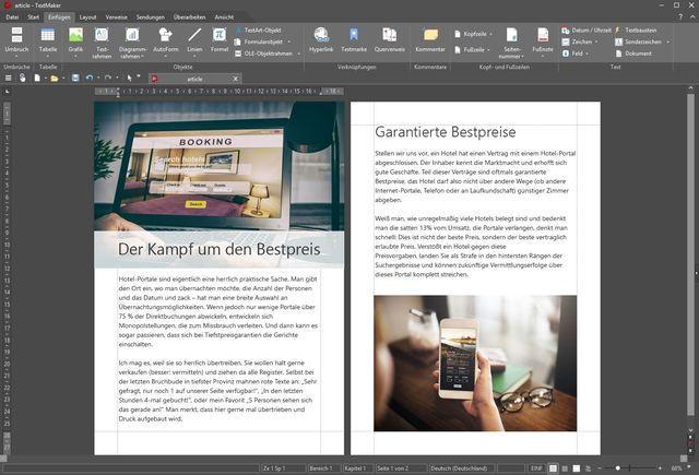 Ashampoo Office 2018 Screenshot TextMaker