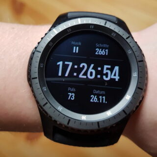 Samsung Gear S3 frontier Smartwatch im Test