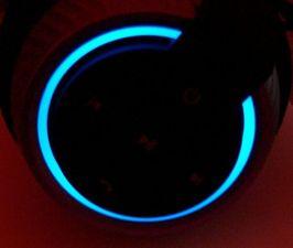 leuchtet blau bei Bluetooth-Verbindung