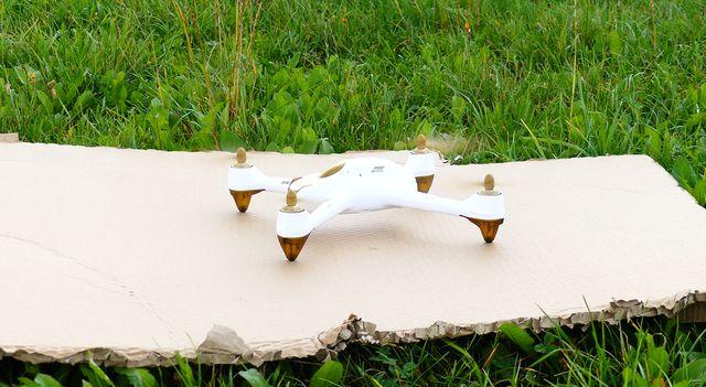 Hubsan Drohne im Drohnen Praxistest
