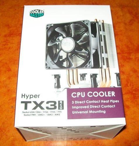 Verpackung Hyper TX3 EVO Frontseite