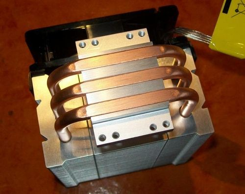 Cooler Master Hyper TX3 EVO Heatpipes