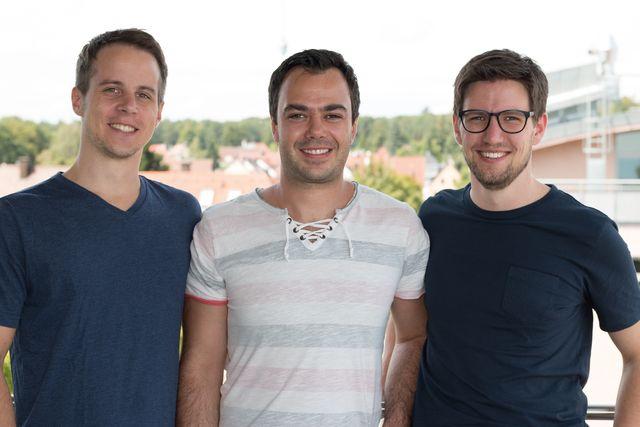 Marc Neumann, Waldemar Wunder und Jochen Schöllig (v.l.n.r)