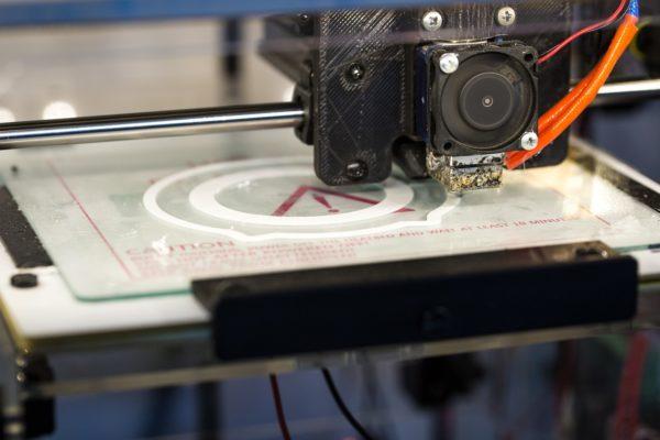 Lasersintern mit 3D Drucker in Aktion