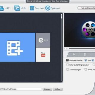 MacX HD Videokonverter Pro für Windows ausprobiert