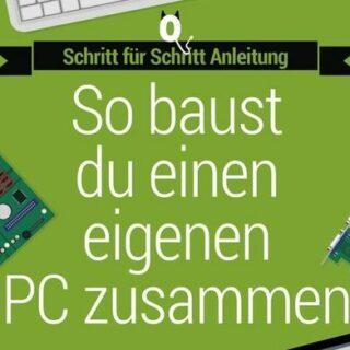 Der Zusammenbau eines PC - in einfachen Worten Schritt für Schritt