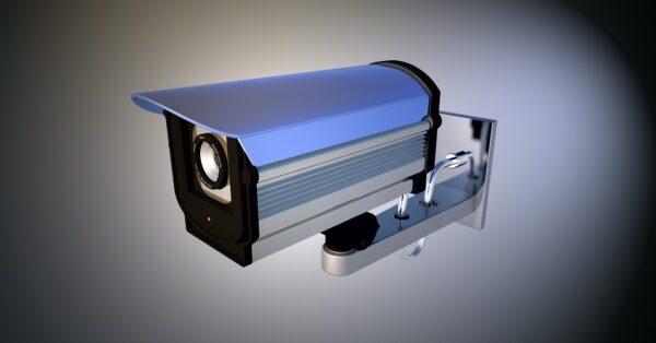 Videoüberwachung mit einer Überwachungskamera
