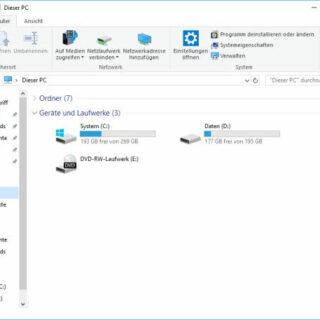Mit der Datenträgerbereinigung alte Daten von Windows 10 löschen
