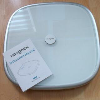 Koogeek S1 Smart Scale Körperanalysegerät im Test