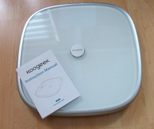 Koogeek S1 Smart Scale Körperanalysegerät