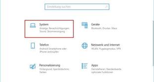 Bildschirmauflösung ändern - Fenster Windows-Einstellungen