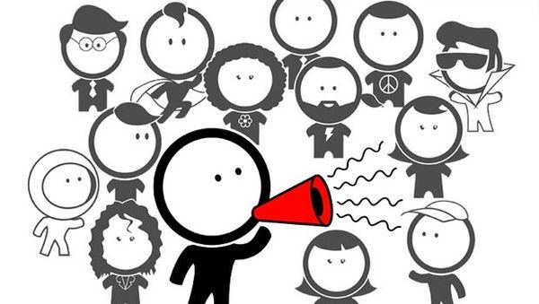 Interaktion mit anderen Menschen und der Community