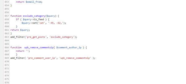 Ausschnitt functions.php