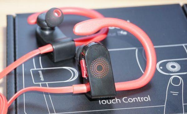 Dodocool DA156 Bluetooth Ohrhörer Detail Schaltfläche