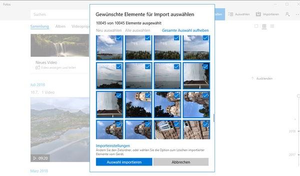 Bilder vom iPhone auf PC übertragen mit Fotos-App