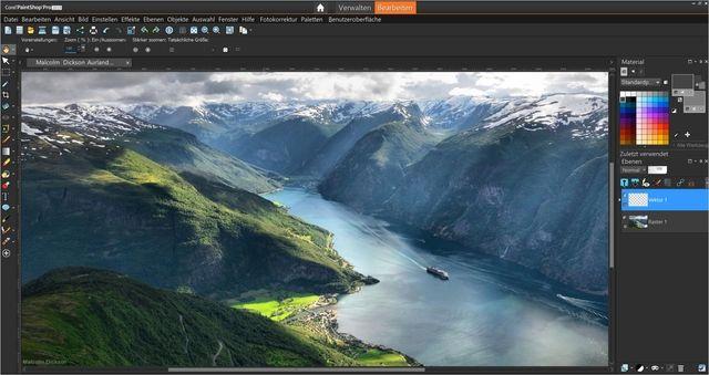 PaintShop Pro 2019 Ultimate Screenshot 1