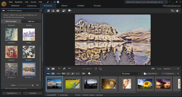 Cyberlink PhotoDirector 10