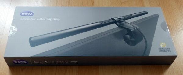 BenQ ScreenBar E-Reading-LED-Task-Lampe Verpackung