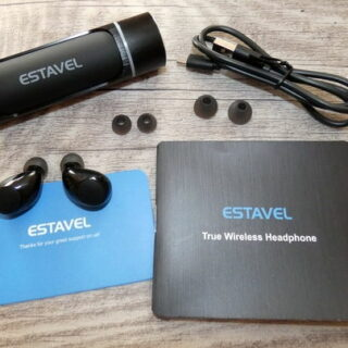 Bluetooth Kopfhörer ER-ESTAVEL HT-BT02 True Wireless im Test