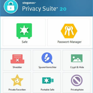 Software-Vorstellung: Steganos Privacy Suite 20