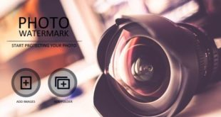 WonderFox Photo Watermark Startbildschirm
