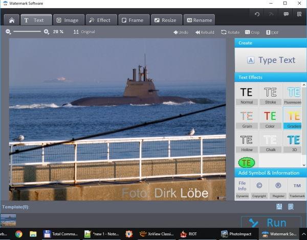 Wasserzeichen mit WonderFox Photo Watermark erstellen