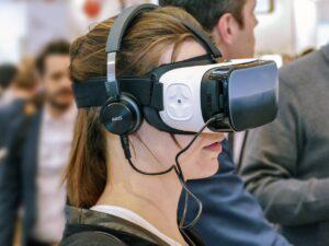 VR-Brillen im Einsatz