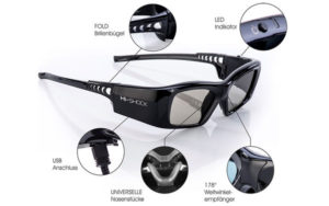 7G Black Diamond DLP Pro Brille