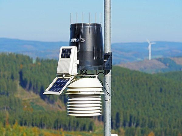 Luftreiniger Messstation für Luftverschmutzung