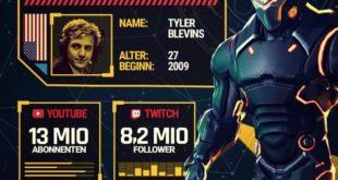 Twitch-Millionär Ninja Spielerprofil