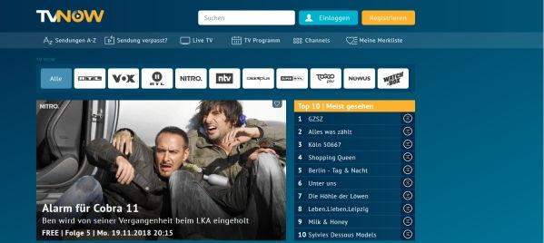 Deutsche Sender, wie RTL, auch im Ausland streamen
